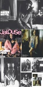 """Laura Neiva, atriz estreante de do filme """"À Deriva"""", é capa da revista francesa """"Jalouse"""" de outubro."""