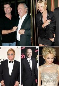 """Alguns dizem que este pode ser o evento do ano, outros comentam que Simon Cowell pretende só celebrar o aniversário de 50 anos em grande estilo. Mas a verdade é que o jurado do """"American Idol"""" prepara uma festa black-tie para 400 convidados, entre eles El"""