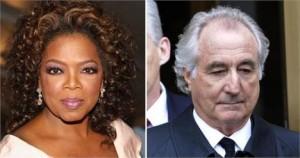 Oprah Winfrey quer fazer negócios com Bernie Madoff. Isso mesmo. A apresentadora quer comprar o acervo de livros raros dele.
