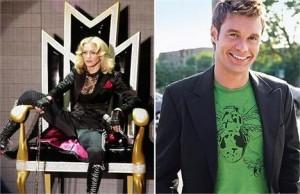 """Madonna esteve no programa de rádio """"On Air with Ryan Seacrest"""", nessa quinta-feira, e bateu um papo com o apresentador sobre homens mais novos, o próprio corpo, Kanye West e até repetiu uma frase polêmica que disse no programa de David Letterman, na noit"""