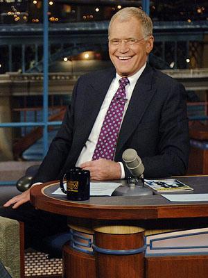 David Letterman: aliviado