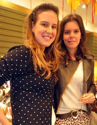 Ciccy Halpern e a irmã, Carol Porto: festinha só para elas