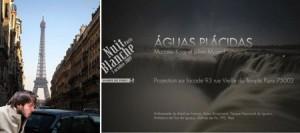 """O fotógrafo brasileiro, Marcelo Korp vive em Paris há cinco anos, e conseguiu um fato inédito esta semana. Teve a liberação do seu projeto na prefeitura de Paris para executar a instalação """"Águas Plácidas"""" durante o famoso """"Nuit Blanche"""" que acontece hoje"""