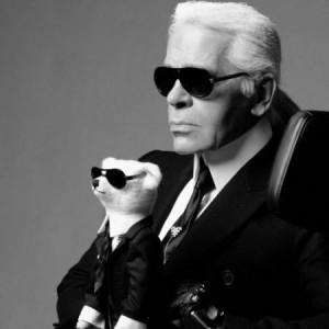Brinquedos do estilista Karl Lagerfeld