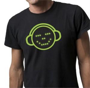 Camiseta com emoticons