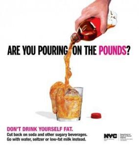 Governo de Nova York lança campanha contra o consumo de refrigerante