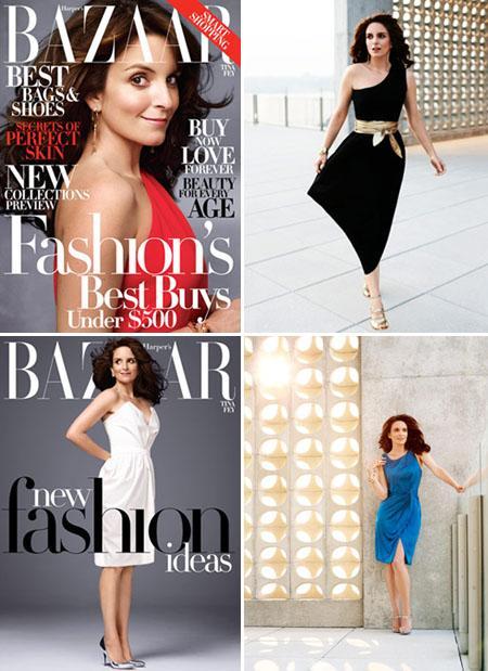 Tina Fey: capa da Harper's Bazaar de novembro e queridinha da América