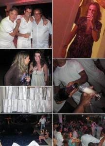 Foi noite adentro a festa de aniversário de Murilo Lomas, na casa de Sig Bergamin, em Trancoso. Com um mix de DJs, a festa que começou às 5h da tarde só terminou quase doze horas depois.