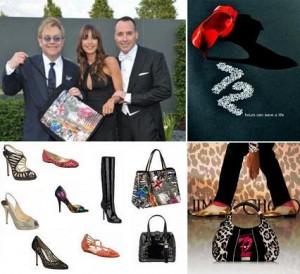 A badalada marca de sapatos Jimmy Choo, comandada por Tamara Mellon, resolveu se unir a Elton John AIDS Foundation.