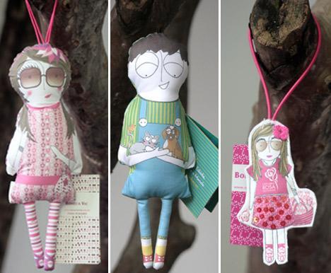 Bonequinhas da ONG Orientavida são uma ótima pedida para crianças e pais.
