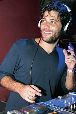 Bruno Gagliasso: DJ por uma noite