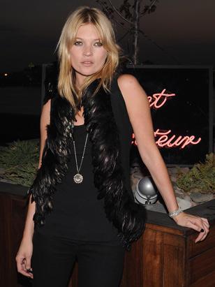 Kate Moss: nova empreitada