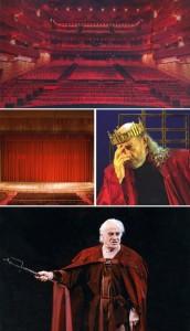 """Um livro comemorativo, editado especialmente para a abertura do novo Teatro Bradesco, será o presente para os 1,5 mil convidados da noite de inauguração do espaço em São Paulo, nesta quinta-feira. """"Palmas para o Teatro"""", com 276 páginas, remonta a históri"""
