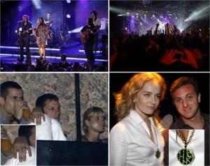 Preta Gil grava DVD ao vivo no Rio e conta com a presença da família e dos amigos.