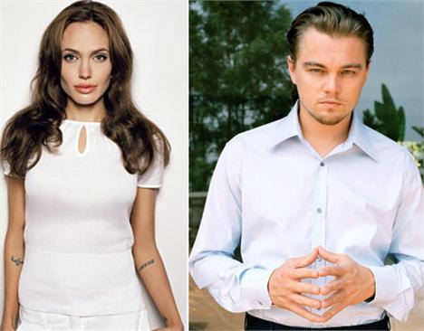 Angelina Jolie e Leonardo Di Caprio: juntos pela primeira vez nas telas