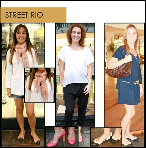 Nós, da dupla Paula Martins e Chris Francini, passamos a tarde no shopping Fashion Mall, no Rio, coletando imagens de pessoas que estavam com um look bacana no shopping. As cariocas são super descoladas e usam uma moda casual como ninguém.
