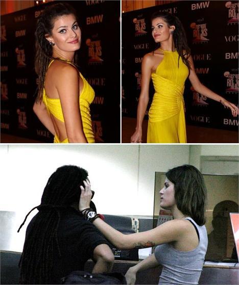 Aprenda a fazer o penteado que Isabeli Fontana usou no jantar beneficente do Oi Fashion Rocks.