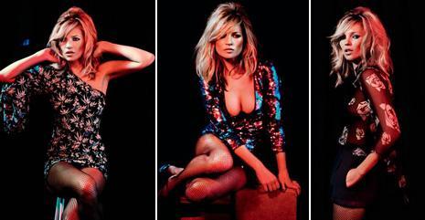 Mais uma: Kate Moss na campanha da coleção de Natal para a Topshop