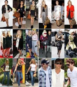 Para algumas pessoas pode até ser um problema, mas para Mary-Kate Olsen, Alexa Chung, Jennifer Aniston e Ashton Kutcher, repetir uma modelito do guarda-roupa não é vergonha nenhuma.