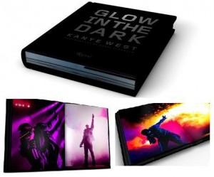 """Kanye West adora inventar moda. Mas dessa vez não é que ele acertou em cheio? Isso porque o cantor lançou um  livro-documentário cheio de efeitos visuais com todos os registros de sua turnê """"Glow in the Dark""""."""
