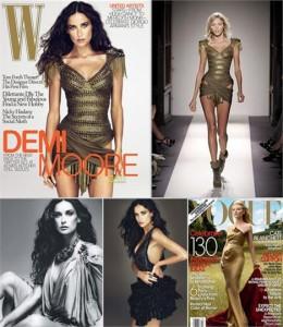 """Duas das mais esperadas revistas de moda internacionais já chegaram às bancas brasileiras: as edições de dezembro das norte-americanas """"Vogue"""" e """"W""""."""