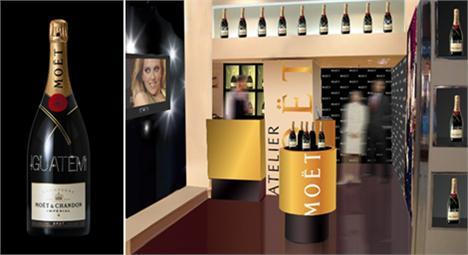 Para os glamurettes que adoram uma exclusividade, inaugura nesta terça-feira, o Atelier Moët, no shopping Iguatemi.