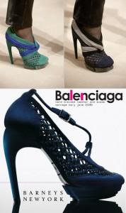 Balenciaga acaba de colocar a venda os sapatos da coleção de inverno 2010!