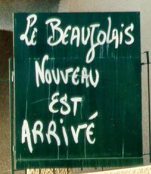 Beaujolais Nouveau: safra 2009 disponível a partir de amanhã!
