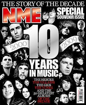 """A capa da """"NME"""": CDs para ouvir por mais de uma década"""