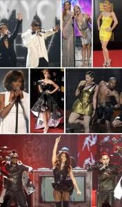 Uma turma das boas se reuniu na noite desse domingo, em Los Angeles, para o American Music Awards.