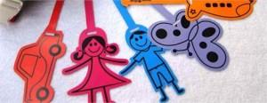 Os papais e mamães que têm pequenos na escolinha vão adorar as diversas etiquetinhas da Names2Glue. A ideia da marca é que todas as peças das crianças sejam personalizadas.