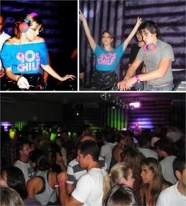 Michelle Molon, a DJ Scarlet, tem tudo para cair no gosto da  cena noturna paulistana.