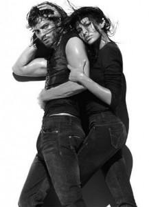 Eva Mendes e Jamie Dornan vão estrelar campanha de primavera-verão 2010 da Calvin Klein Jeans.