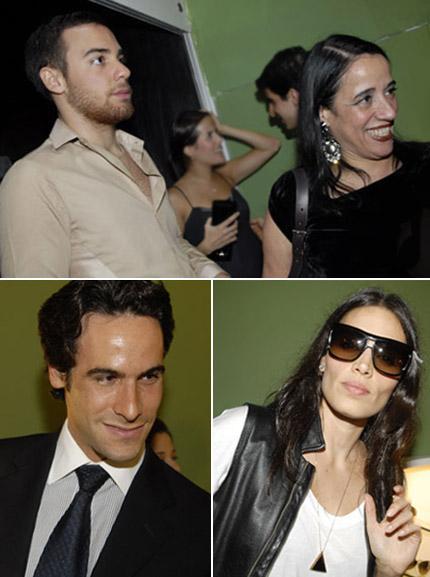 Pedro Lourenço e Gloria Coelho, Pippo Garnero e Cassia Avila  gostos  variados dec67172ec