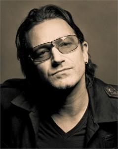 Bono e a mulher, Ali Newson, formam um casal bem… saidinho.