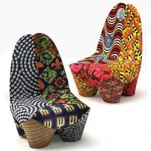 Cadeiras lindas e divertidas