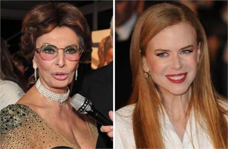 Nicole Kidman: quero ser Sophia Loren