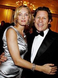 A atriz Uma Thurman acaba de anunciar sua separação do milionette suíço Arpad Busson.
