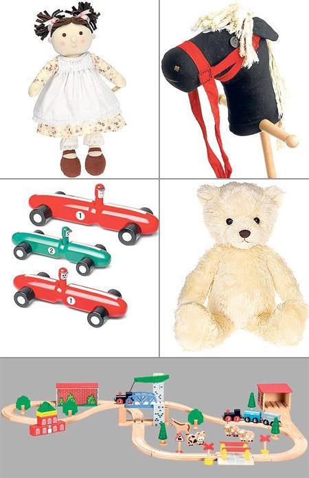 """Os cinco brinquedos mais tradicionais, segundo o """"Telegraph"""": para agradar em cheio"""