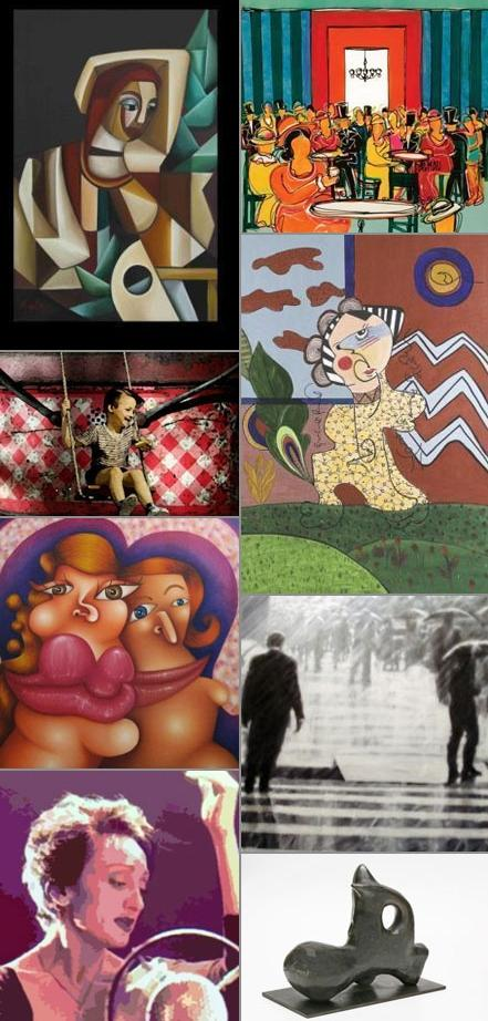 A arte brasileira está sendo muito bem representada em Paris.