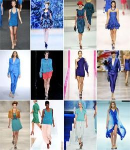 O azul turquesa foi a cor selecionada pela gigante Pantone e se depender do mundo da moda, o tom vai reinar absoluto por ai.