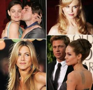 Lista mostra como uma década mudou a vida de dez celebridades
