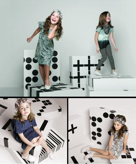 As pequenas glamurettes que estão sempre de olho no guarda-roupa de suas mamães vão adorar a nova coleção da FIT Nina, marca infantil da FIT.