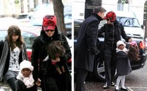 Como já é de costume, Madonna visitou o Kabbalah Centre de Londres, nesse sábado pós-feriado de Natal.