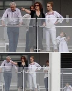 Glamurama tem o flagra de Nicole Kidman em Sydney com a família.
