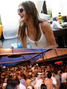 A festa da BMW no Praia Cafe de la Musique fez o chão tremer na tarde dessa terça-feira