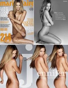Miss Universo posa para edição australiana da revista Marie Claire nua e sem nenhum photoshop.