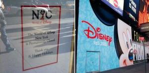 Disney anuncia abertura de loja com 2.300 m² em plena Broadway.