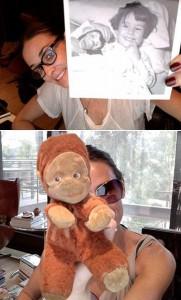 A turma de estreladas costuma ter uma ampla coleção de sapatos, bolsas, jóias… há de quem adore ter muitas obras de arte. Mas, no caso de Demi Moore, o item de colecionador é outro, bem diferente: a atriz é louca por macacos de pelúcia!