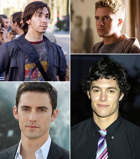 Justin Long, Topher Grace, Milo Ventimiglia e Adam Brody: possibilidades para Peter Parker